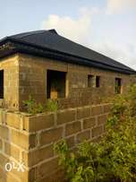 Standard uncompleted 2bedroom with 2nos of mini flat bungalow setback