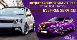Let us find your Dream Car now! It's a Free Service!