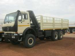 Truck Mercedes benz 2624 for sale.