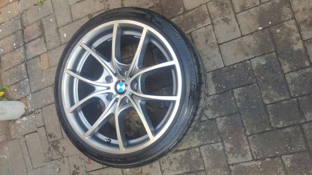 """19"""" BMW 6 Series rep Mags with Tyres Rustenburg - image 5"""