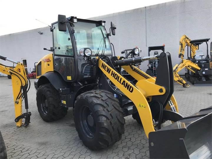 New Holland W80c - 2018