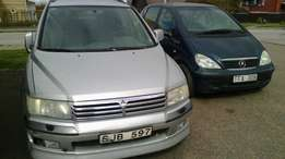 Direct belgium Mitsubishi space wagon with Custom papers For sale.