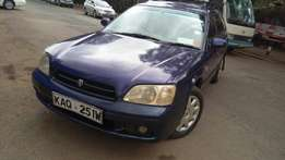 Very clean subaru legacy local