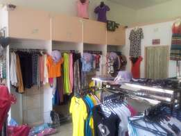 Ladies Clothing Store stock and equipment for sale