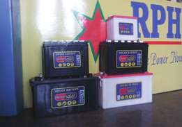 All size solar batteries