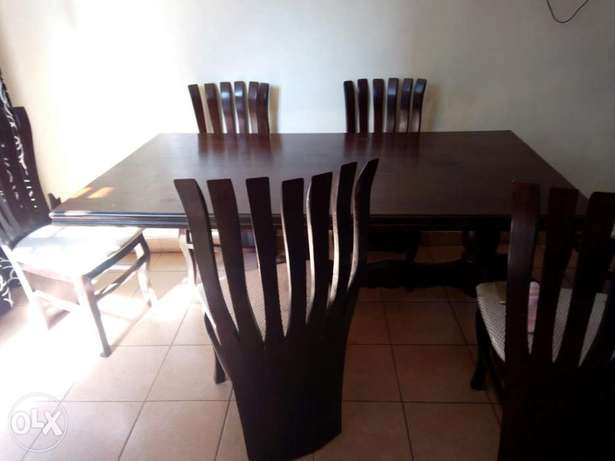 Dinning table with 6 chairs Thika - image 5
