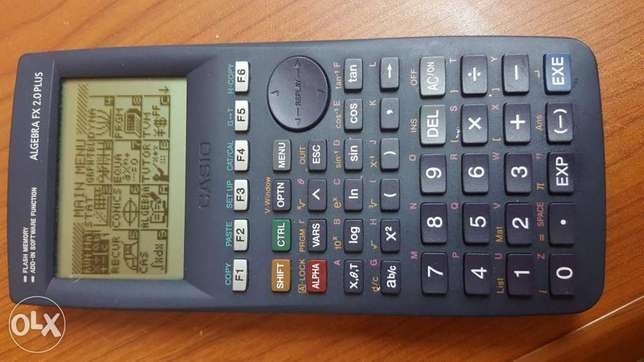 Casio Algebra FX 2.0 plus programable calculator