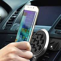 Wireless car charger with silicone sucker