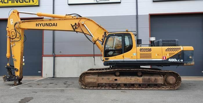 Hyundai Robex480lc-9 - 2012