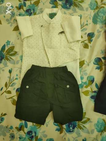 Boys dress ... Size 2 to 2.5 years...each set 1 OMR, all for 3 omr..
