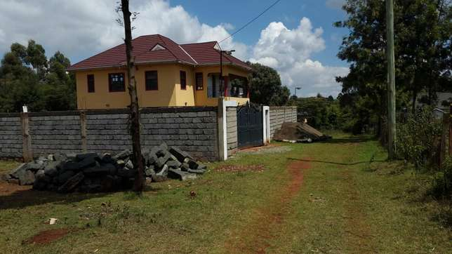 One acre in Kikuyu Thogoto along Green garden road at 29m negotiable. Kabete - image 5