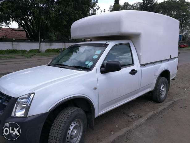 South Africa Rear Fiberglass Pickup body / Topper Free Area - image 2
