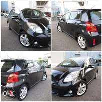 Toyota vitz rs brand new car