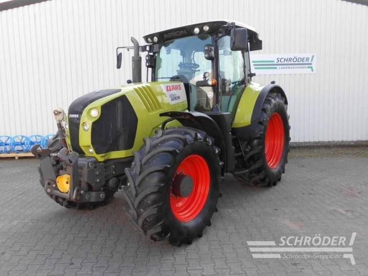 Claas arion 650 cis - 2015