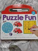 selling a puzzle fun book