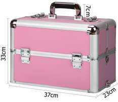 Pink beauty case for sale