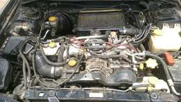 selling for parts salvaging complete subaru version 4 engine