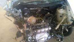 VW POLO VIVO 1.4 COMPLETE ENGINE,with complete cylinder head