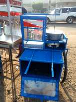 Mobile popcorn machines