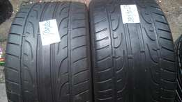 2 X 285/35/20 Dunlop for sell