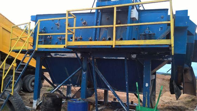 Wspaniały Zakład na mokro. Przesiewacz trzy-pokładowy z instalacją wodną CJ01