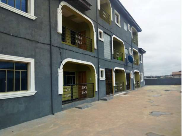 Lovely 2 bedroom flat all tiles floor with nice kitchen at Baruwa Alimosho - image 1