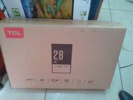 "Tcl 28"" digital tv brand new"