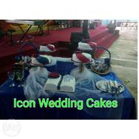 Wedding Cakes Set Up Person