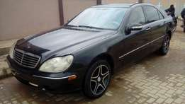 A clean Mercedes Benz S-430 imported from United States/Registered