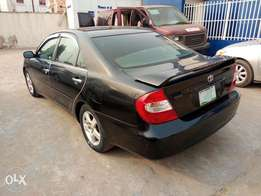 A first body and neatly used 2003 Toyota camry, v6, fabrics,