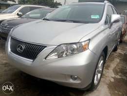 2011 Lexus RX350 silver in excellent condition