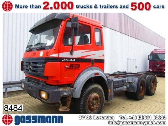 mercedes-benz sk 25/2644k 6x4 tractor unit - 1995