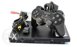 Sony PlayStation 2 slim chipped with memory card plus free games