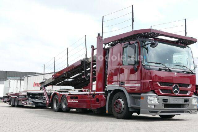 Mercedes-Benz Actros 2341 Autotransport Kassbohrer Supertrans - 2011