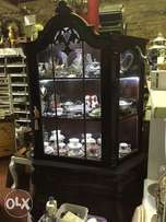 Large French Display Cabinet a must see
