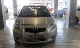 2007 toyota yaris t3 auto for sell R77000