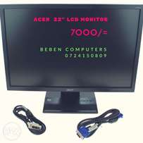 """Acer 22"""" LCD Monitors"""