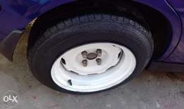 2sets honda steelies