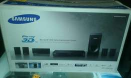 samsung 3D bluray suround sound system