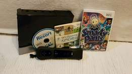 Nintendo Wii full package with 3 Games