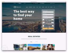 Offer RealEstate Website 10k - property listing with tonnes of feature