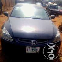 Clean Honda Accord 2005 Gray