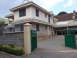 4 bedroom double storey house all ensuite with SQ_Situated off kiambu road 20 minutes away from UN and Garden city