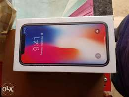 Iphone X 256gb Brand New(Slightly Negotiable)