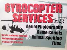 Gyrocopter service