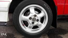 """14"""" vw life wheels + 17"""" tsw 17z to swap for a set 15z with tyres"""