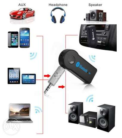 Aux to Bluetooth adaptors for the