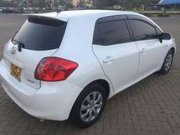 Toyota Auris,2008,1500cc,automatic,petrol,white,cln at 845k