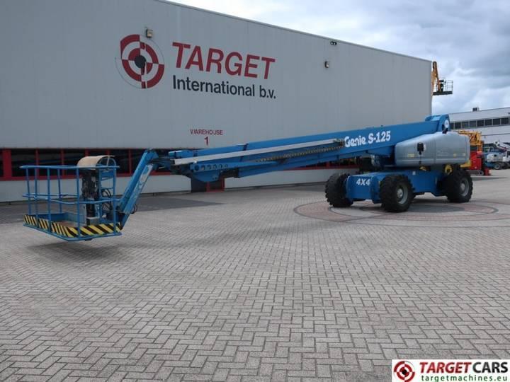 Genie S-125 Telescopic S125 Boom 4x4x4 Work Lift 4010cm - 2007