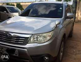 A well maintained 2008 Subaru Forester